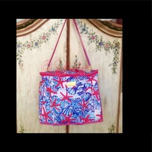 🧜🏻‍♀️ Lilly Pulitzer Tote Cooler SHE SHE SHELLS